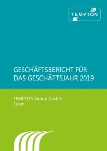 thumbnail of Geschäftsbericht TEMPTON Gruppe 2019