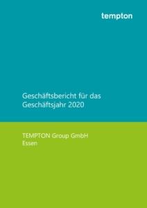 thumbnail of Geschäftsbericht TEMPTON Gruppe 2020