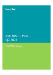 thumbnail of Interim Report Q2 2021
