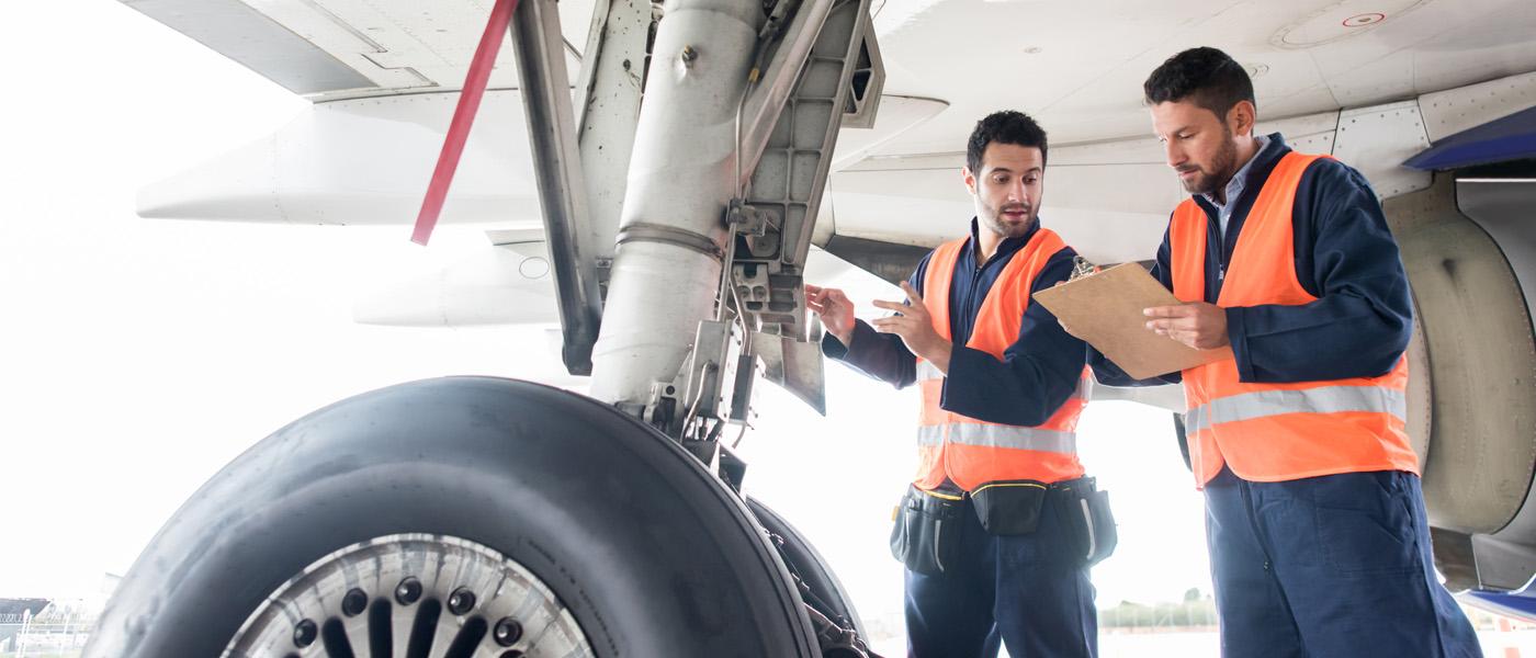 Flughafen Personal Techniker