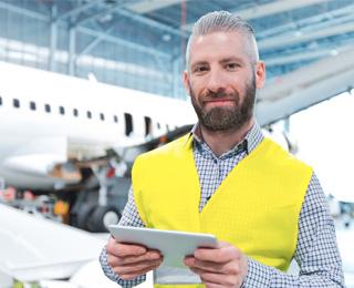 Flughafen Personal Checkliste