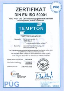 Zertifikat DIN-EN_ISO-50001
